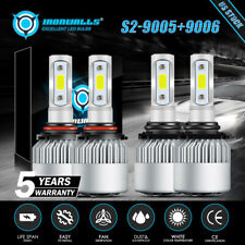 Hilo Combo 9005 9006 Led Headlight Bulbs For Chevy Silverado Tahoe 1995 2006 Us