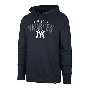 MLB New York Yankees Hoody Outrush Headline Jumper Hooded Sweater Sweatshirt