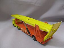 P298 MATCHBOX 1/50 DAF CAR TRANSPORTER SUPER KINGS Ref K-11 BON ETAT