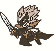 Bravely Default Second Denny Geneolgia Rubber Phone Strap NEW