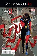 MS Marvel # 10 Regular Cover NM Marvel