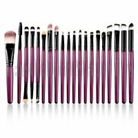 Makeup brush 20pcs Set Foundation Powder Eyeshadow Eyeliner Lip Cosmetic Brushes