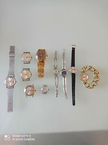 Konvolut Russische Uhren- Stowa,Slava, Wostok,Luch,Pobeda