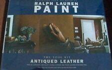 Exclusive Faux Techniques Ralph Lauren Paint Antiqued Leather Tool Kit