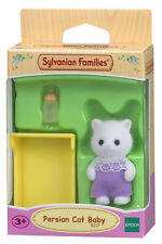 New! 5217 Sylvanian Families Persian Cat Baby Figure & Accessories Kids Girls 3+