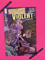 Pretty Violent #7 Derek Hunter Cover A Image Comics 2020 NM