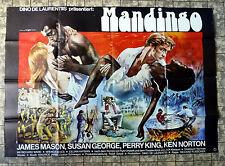 MANDINGO * KEN NORTON, J. MASON - A0-Filmposter XXL - Ger 2-Sheet 1975