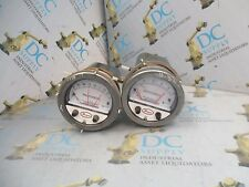 "DWYER SER A3000 PHOTOHELIC TYPE 2 ENC 120 V 0-2"" 0-1"" PRESSURE SWITCHES LOT OF 2"