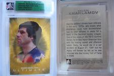 2007-08 ITG Ultimate Valeri Kharlamov 7/9 gold USSR CSKA