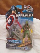 "HYDRA Armored Soldier 3.75"" VARIANT Figure New On-Card Captain America Marvel"