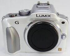 Panasonic Lumix G3 White Mirrorless Camera Body Only Micro 4/3 DMC-G3