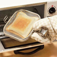 Sandwich Maker Iron Bread Toast Waffel Pancake Back Grill Braten Pan
