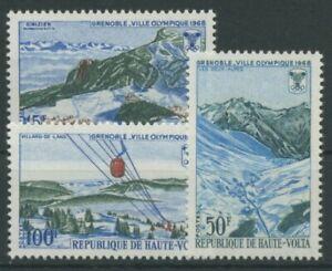 Obervolta 1967 Olympische Winterspiele Grenoble 230/32 postfrisch