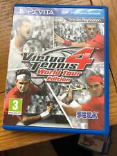 Virtua Tennis 4 -- World Tour Edition (Sony PlayStation Vita, 2012)