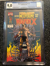 Marvel Comics Presents 72 CGC 9.0 VF/NM First Appearance Weapon X Wolverine BWS
