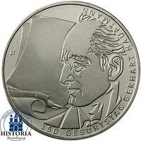Deutschland 10 Euro Gedenkmünze 2012 bfr. Gerhard Hauptmann  in Münzkapsel