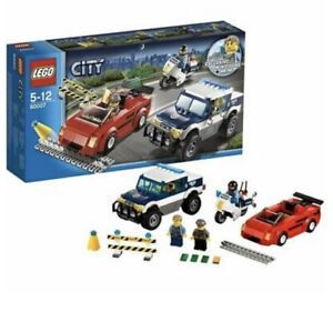 Lego City 60007 Police High Speed Chase Retired Set + Instructions No Box 5-12