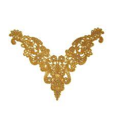 Gold Lace Applique Motif #53 Aust Seller Tutu Dance Costume Trim