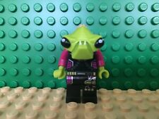 LEGO Alien Conquest Alien Pilot Minifigure 7050 7052 7067 Green Purple Black