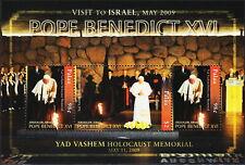 Palau Visit Israel Pope Benedict XVI 2009 MNH-12 Euro