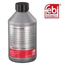 febi bilstein 46161 Hydrauliköl für die Servolenkung (grün) 1 Liter - AUDI, BMW, MINI, OPEL, SEAT, SKODA, VAUXHALL, VW
