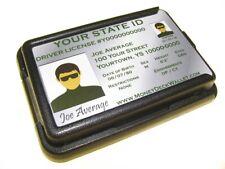 Money Deck -Unique, Thin, Mens Wallet & Stainless Money Clip -Credit Card Holder