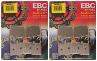 EBC Double-H Sintered Metal Brake Pads FA188HH (2 Packs - Enough for 2 Rotors)