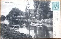 Lachine, Quebec, Canada 1906 Postcard: Portion of the Old Canal