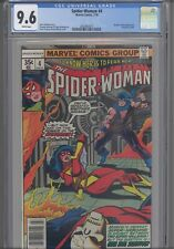 Spider-Woman #4 CGC 9.6 1978 Marvel Brother Grimm App, Hangman Cameo: New Frame