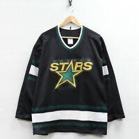Vintage Mike Modano #9 Dallas Stars CCM Maska Jersey Size Large 90s NHL Hockey