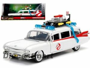Ghostbusters ECTO 1 99731 Hollywood Rides 1/24 Scale Diecast Car JADA