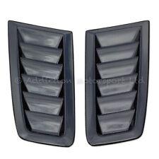 Pair of Ford Focus RS MK2 100% Full 3K Plain Weave Carbon Bonnet Vents in Gloss