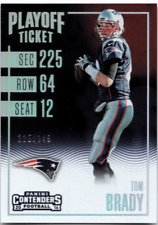 2016 Panini Contenders Playoff Ticket TOM BRADY #/249 - NEW ENGLAND PATRIOTS