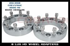 """PAIR OF 2 8X210 3"""" THICK 14X1.5 STUDS FOR 3500 SUPER DUTY DUALLY WHEELS"""