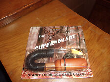 Stanley Scruggs Model # Dr-2 The Super Bleat Deer Call, New in Package Free Ship
