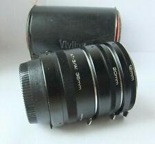 Nikon F/Ai fit-Vivitar auto extension tubes