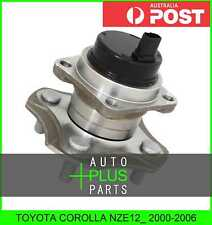 Fits TOYOTA COROLLA NZE12_ Rear Wheel Bearing Hub