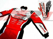 kart racing suit go karting Birel art style suit by Fr1 With gloves-All Sizes