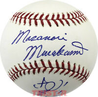 MASANORI MURAKAMI SIGNED AUTOGRAPHED ML BASEBALL TRISTAR - SAN FRANCISCO GIANTS
