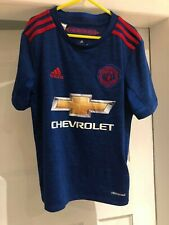 Manchester United 2016 / 2017 Childrens 9/10 Years - RASHFORD 19 Football Shirt