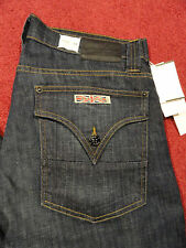 "MEN HUDSON JEANS BLUE ""BARTON"" STRAIGHT DENIM Sz29 AUTHENTIC NWT MADE IN USA"