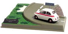 FIAT NUOVA 500 SPORT CON PLASTICO SCALA 1:43 CON PISTA