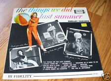 SHELLEY FABARES Things we did last summer mono lp