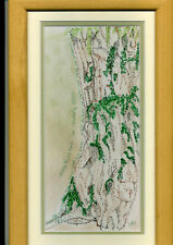 Pen & Pastel Framed Picture Fortingall Yew BN