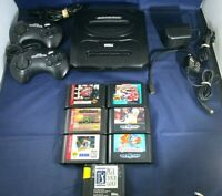 Vintage Sega Genesis Console/Game Lot. Console 2, Controllers Ac Adapter 7 Games