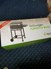 Toronto BBQ Barbecue Charcoal Tepro Trolley Anthracite/Stainless Steel