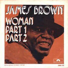 "7"" James Brown – Woman Part1 & Part2 // Belgium 1973"