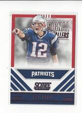 2016 Score Signal Callers Red #15 Tom Brady Patriots