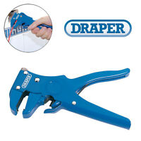 Draper 55806 Automatic Wire Cable Stripper Cutter Pliers Ribbon Electrician Tool