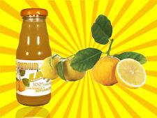 12 bouteilles jus de Bergamote 200 ml Premium Fruit Haute qualité Italie Naturel